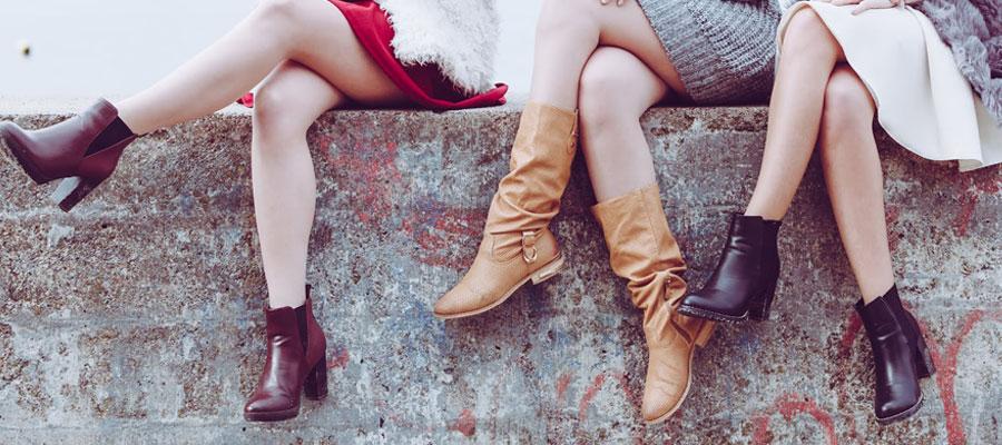 Modèles de chaussures adaptés aux pieds sensibles